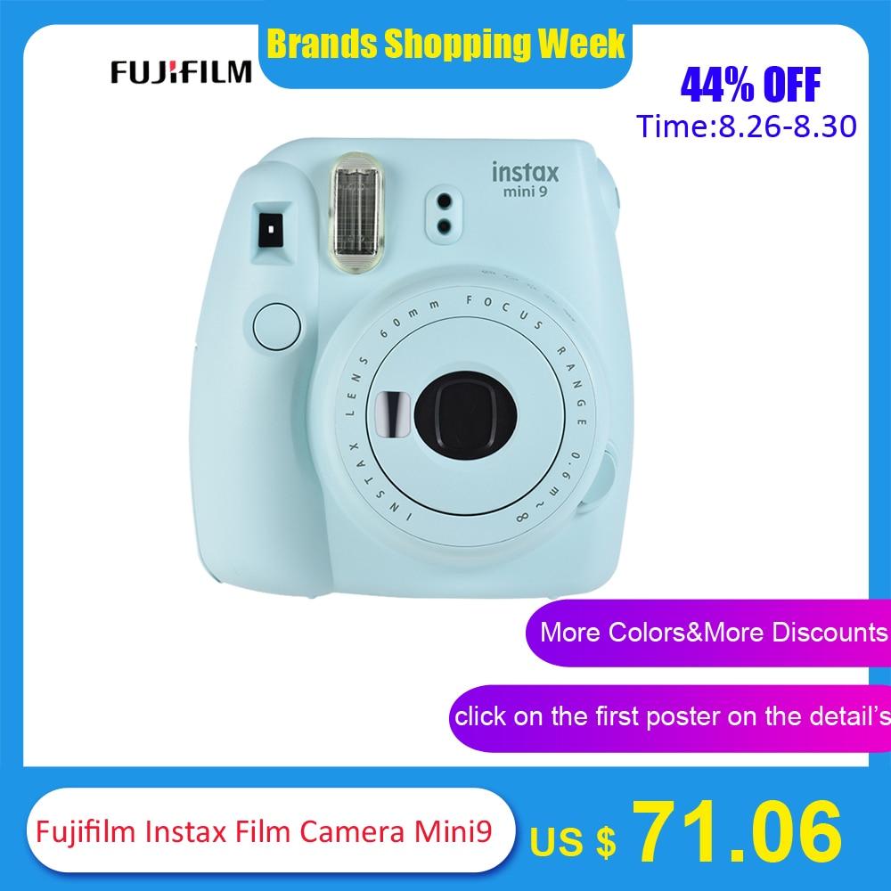 5 Colors Fujifilm Instax Mini 9 Instant Camera Photo Camera 2 Options/MINI 9+13 in 1 Kit Camera Case Filter+Album+Sticker+Other winnie the pooh iphone case