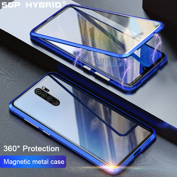 Magnetic Case For Xiaomi Redmi Note 8 8t Pro K30 Case Double Side Glass Bumper Shockproof Back Cover For Redmi K 30 K20 Pro Case