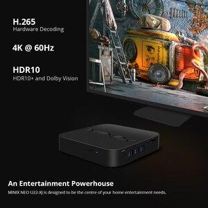 Image 3 - MINIX TV BOX NEO U22 XJ, Android 9,0, 4K, Dolby Vision, dispositivo de TV inteligente, 2,4G/5,0G, WiFi