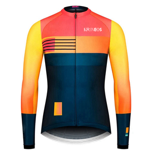 Spring and autumn long-sleeved cycling clothing Maillot men's cycling clothing quick-drying cycling clothing gobikful ciclismo