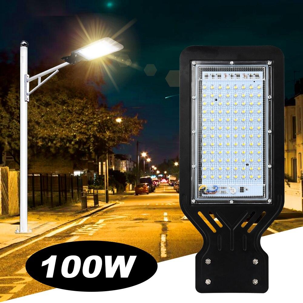 100W LED Street Light Outdoor Spot Lamp Area Parking Yard Barn Industrial Garden Square Highway wall Spot lights AC 220V 110V 1