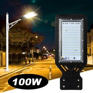 100W LED Street Light Outdoor Spot Lamp Area Parking Yard Barn Industrial Garden Square Highway wall Spot lights AC 220V 110V(China)