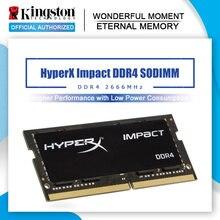 Kingston ram SODIMM DDR4 8gb 16gb 32gb 2666Mhz 1.2V HyperX darbe oyun bellek dizüstü