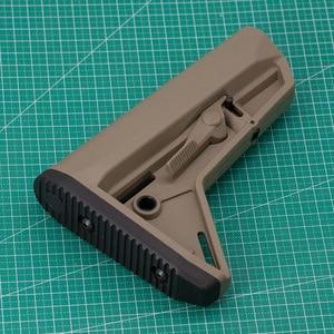Image 3 - 屋外の戦術的なゲーム機器エアガン空気銃 jinming 8 Gen9 M4 AR15 ナイロンリアバットモデルライフルペイントボールアクセサリー