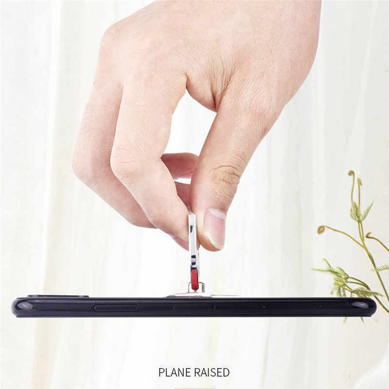 חדש BBR באטמן אלומיניום מתכת אוניברסלי אצבע טבעת Smartphone נייד טלפון סלולרי יד שולחן Stand עבור iPhone Xiaomi מחזיק
