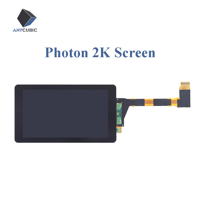 ANYCUBIC 2K LCD Screen Quad HD For 3D Printer Photon Printer Parts Kits Accecceries High Brightness 5.5 Inch 2560x1440