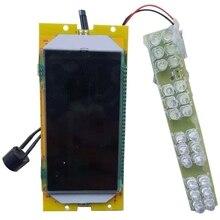 Wyświetlacz ciekłokrystaliczny do skuterów elektrycznych Kugoo S1 S2 S3 do uniwersalnego skutera elektrycznego 36V
