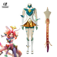 ROLECOS Game LOL Neeko Cosplay Costume Star Guardian Neeko Cosplay Costumes Suit Women Sexy Dress Halloween Uniform Full Set