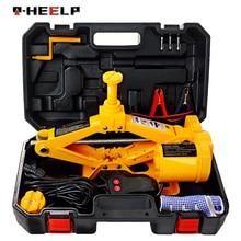 Cric ciseaux de levage multifonction, Portable, pour voiture, 12V, vérin électrique de 3 tonnes, cric de levage, E-HEELP