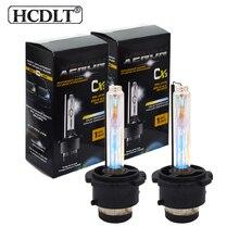 HCDLT 35W D2S 3000K زينون HID كشافات 4300K 5000K 8000K 10000K العلوي مصباح سيارة ضوء 55W D2R 6000K HID استبدال لمبة