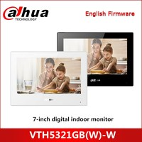 Dahua Android 7 inch digital indoor monitor VTH5321GB(W) W Quick configuration for villa system