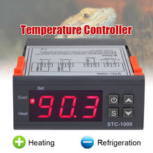 STC-1000 All-Purpose Seafood Machine Chiller Temperature Controller Sensor Convenient Thermostat Fault Alarm STC Aquarium