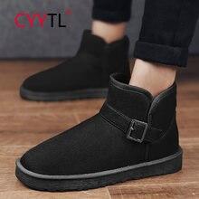 Cyytl/Новинка; Зимняя теплая обувь; Мужские зимние ботинки;
