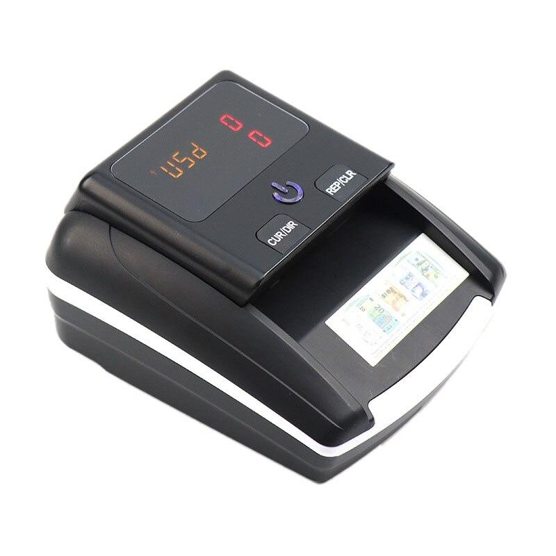 contador pequeno portatil do valor da denominacao do detector de notas uv mg ir dd da