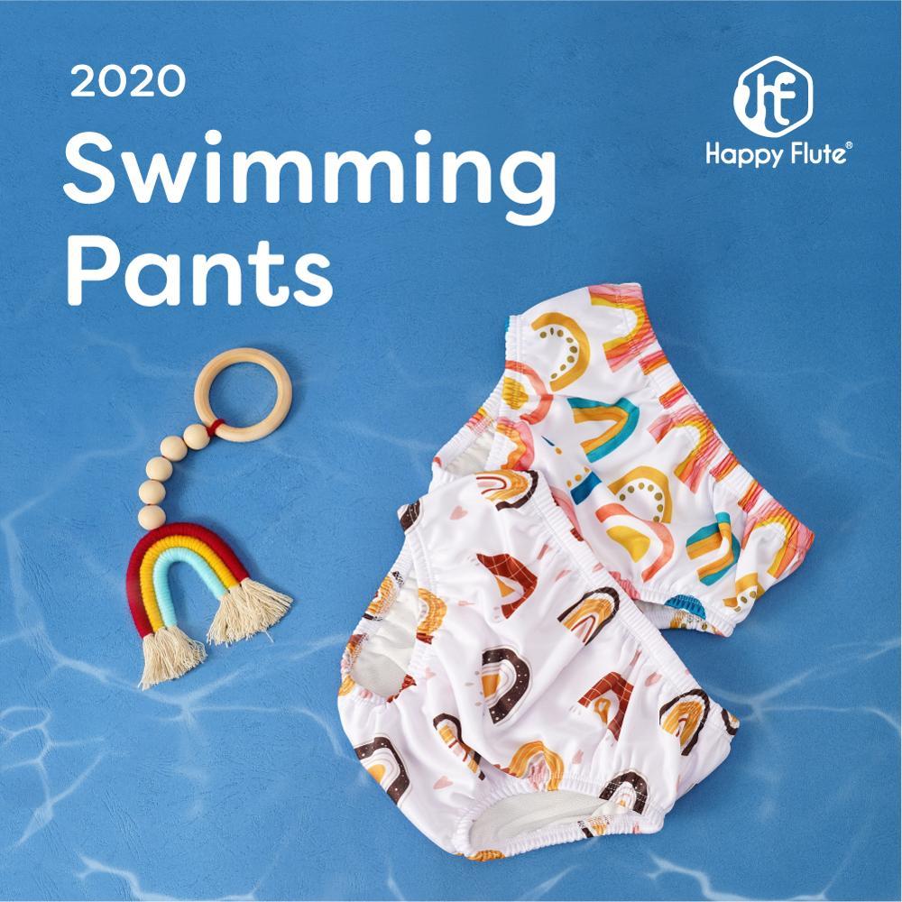 Happyflute, 3 размера, Детские Плавание бассейн брюки Плавание ming Чехлы для брюк Многоразовые моющиеся тканевые подгузники