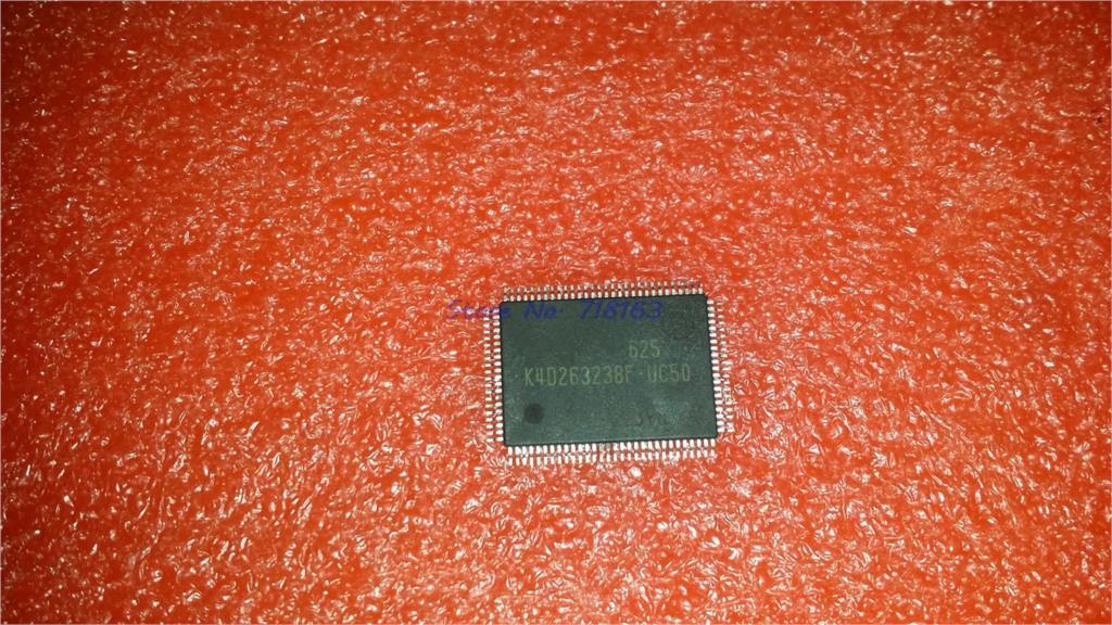 1pcs/lot K4D263238K-UC50 K4D263238F-UC50 K4D263238I-UC50 QFP-100