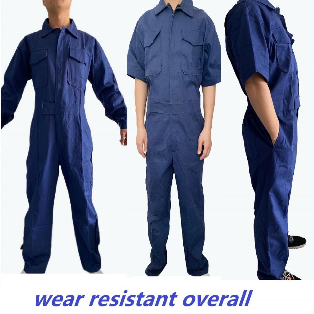 Working Uniform Workwear Clothes Men Women Long Sleeve Workmen Car Workshop Welding Suit Mechanical Working Overalls Coveralls