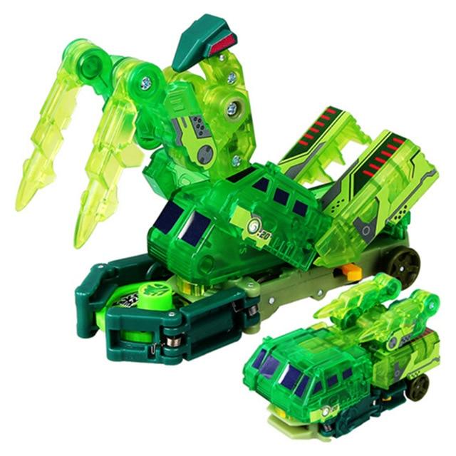 Экшн-фигурки Screechers, деформация скорости полета, для захвата вафли, вращение на 360 градусов, трансформация, автомобиль, игрушки для детей, под...