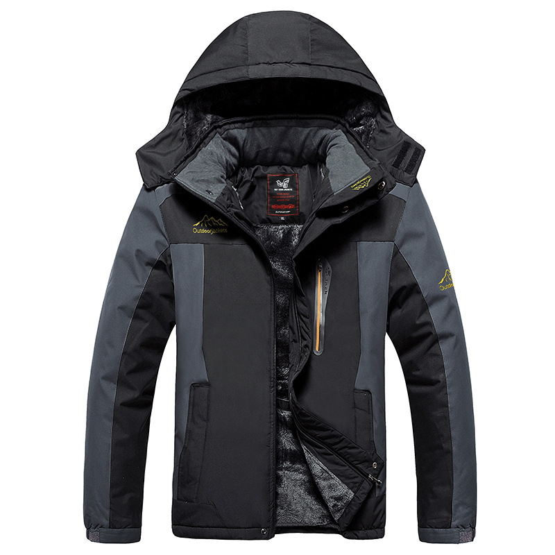Image 3 - BOLUBAO New Men Jackets Coats Winter Brand Men's Fashion Casual Thick Warm Jacket Male Windproof Waterproof Outdoor Jacket-in Jackets from Men's Clothing