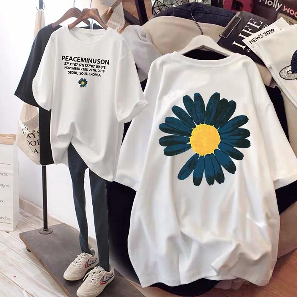 New Fashion City Small Zou Ju Short-sleeved T-shirt Ladies Printing Korean Version Of Loose Wild Shirt Women