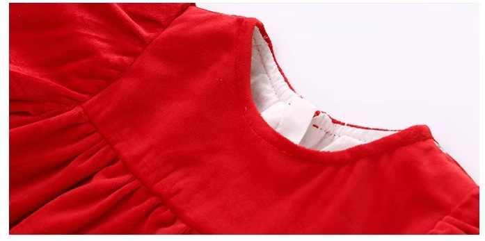Vlinder Bayi Gadis Gaun Bayi Gadis Pakaian Gadis Natal Gaun Ulang Tahun Gaun Gaya Baru Bordir Gaun Putri 9M ~ 3T