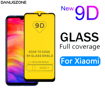 10PCS/Lot 9D Tempered Glass Full Screen Protector For Xiaomi Mi A3 Lite 5X 6 6X Play F1 F2 X2 A2 A1 Tempered Glass Film Cover