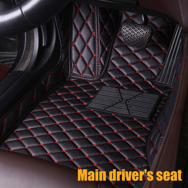 5mm Heavy Duty Rubber Car Mats for Mercedes SL350 04/> Black Leather Trim