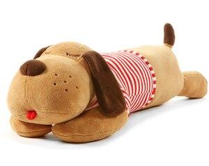 Image 1 - 40/70/90 см, плюшевая игрушка, большая Спящая собака, мягкая игрушка животное