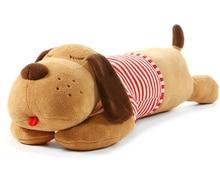 Juguete de peluche de 40/70/90 CM para perro grande durmiendo cachorro de juguete, perro suave