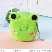 Purse Strawberry Anime Frog-Bag Student-Bag Rabbit Plushcoin Bear Cute Girl Panda Cartoon
