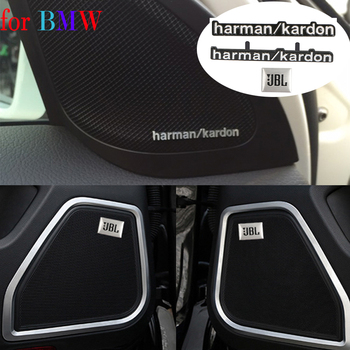 Car Styling Audio Stickers For Harman Kardon For BMW E36 E46 E90 E91 E92 E93 F30 F34 G20 GT E39 E60 E61 F07 F10 F11 G30 E81 E82 image
