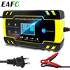 12/24V 8A Smart Auto Acculaders Draagbare Automatische Acculaders Voor Auto Motor Grasmaaier Boot Rv suv Atv Lood-zuur
