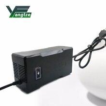 양쯔강 63 v 3a 배터리 충전기 55.5 v 리튬 배터리 전기 자전거 전원 전기 도구