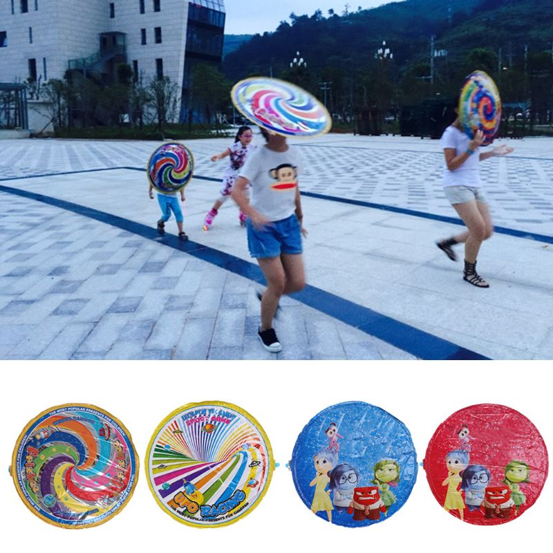 Magic Flying Disc Saucer UFO Air Hover Balloons Kids Outdoor Play Toy Park Game 57BF