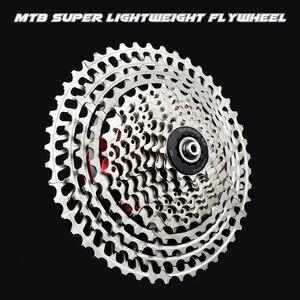 Image 5 - Mtb バイク SLR2 カセット超軽量 10 11 12 速度 42/46/50 t cnc バイクフリーホイール 10s 11s 12s フライホイール K7 スプロケット hg システム