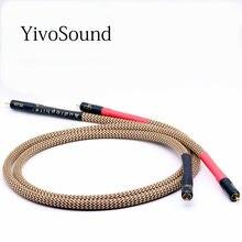 Hifi OFC cuivre audio 2rca à 2rca câble jack lignes de signal AUX CD amplificateur câble de connexion