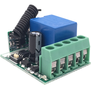 Image 4 - DieSe Newest 1 Button Universal Wireless Remote Control and 433Mhz DC 12V 1CH Relay Receiver Module For Gate Garage and Light