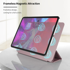 Image 3 - מקרה עבור iPad פרו 11 2018 חכם כיסוי עבור iPad פרו 12.9 2018 מקרה Slim תמיכה לצרף תשלום עבור iPad 11 12.9 אינץ 2020 מקרה