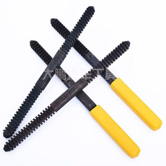 HTL outils métrique, BSW/BSF, SAE/UN,BSP/PE restauration de filetage, lime de réparation, nettoie les fils endommagés