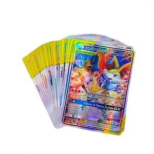 Image 5 - Pokemon fransız kart Lot sahip 200GX 100 etiketi takımı