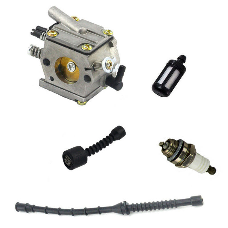 New 1 Set High Quality Practical Durable Carburetor Kit Fit For Stihl 038 MS380 MS381 SUPER MAGNUM Chainsaw Ll