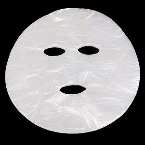 100/200 шт. полный средство для очистки лица маска натуральный одноразовые несжатый Пластик лицевая маска для лица лист Бумага средство для ух...
