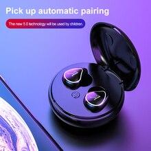 TWS A4 Bluetooth 5.0 True Wireless Earphone Headphone Mini Cordless Earbuds With