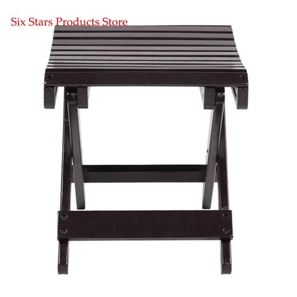 Portable Folding Stool Outdoor Safe Stable Folding Camping Fishing Chair Children's Bath Stool   Shower Footstool