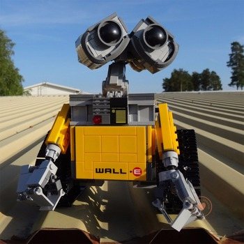 цена на NEW MOC Wall E Robot Fit  Technic Wall E Robot Figures Model Building Block Bricks Girls Toys Boys Gift Kid Birthday