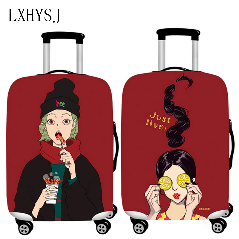 Elastic Travel Luggage Protctive Cover Suitcase Protective Sleeve For 18-32 Inch Luggage Cover Travel Accessories HW655