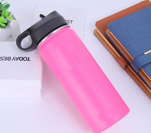 Image 2 - 320z/40oz solid single color Flask logoed Double Walled Vacuum Insulated Stainless Steel Water Bottle pls comment 32oz or 40oz