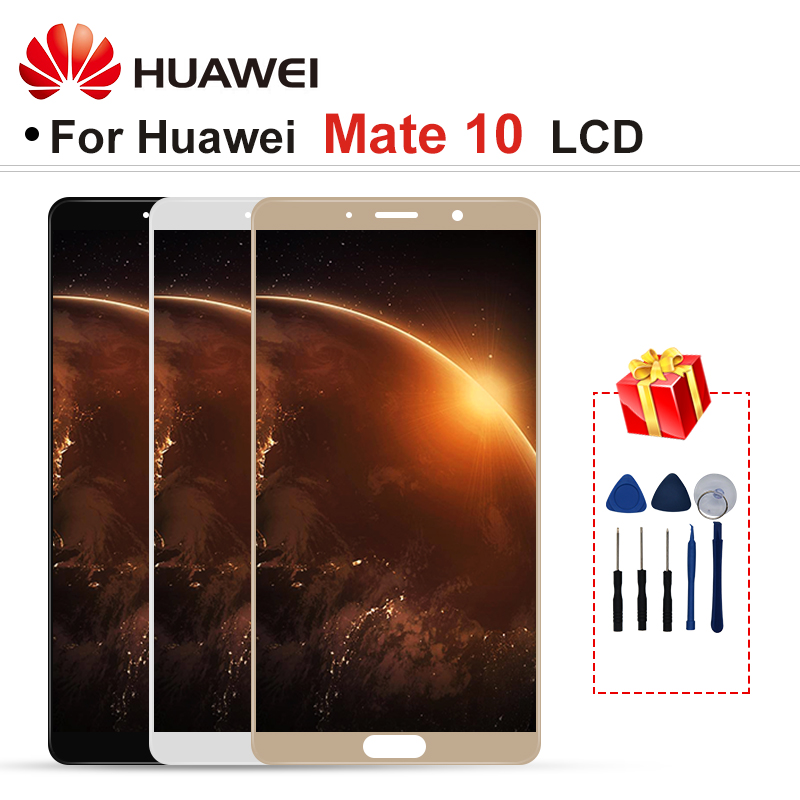 "5.9"" For Huawei Mate 10 LCD ALP-AL00 ALP-L09 ALP-L29 LCD Display Touch Screen Digitizer Assembly Part With Frame Mate 10 Display"