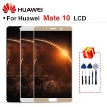 """5.9 """"สำหรับ HUAWEI Mate 10 LCD ALP AL00 ALP L09 ALP L29 จอแสดงผล LCD Touch Screen Digitizer ASSEMBLY Part กรอบ Mate 10 จอแสดงผล"""