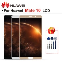 "5.9 ""Voor Huawei Mate 10 Lcd ALP AL00 ALP L09 ALP L29 Lcd Touch Screen Digitizer Vergadering Deel Met Frame Mate 10 Display"
